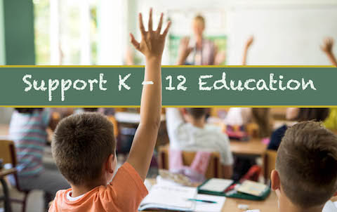 Support K-12 Education