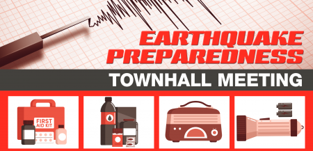 Earthquake Preparedness Townhall Meeting