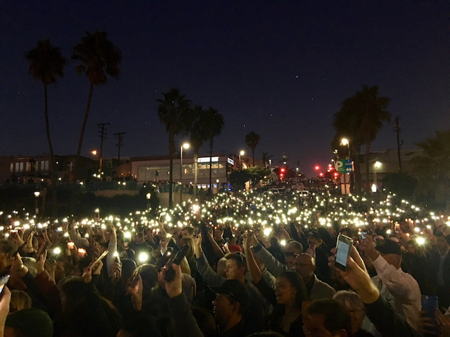 Vigil for Victims and Survivors of the Las Vegas Shooting